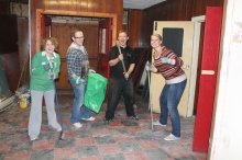Helping transform a local community centre