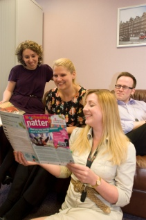 Reading our tenant magazine